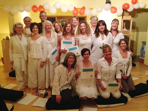 Yoga Teacher Training Graduates 2013