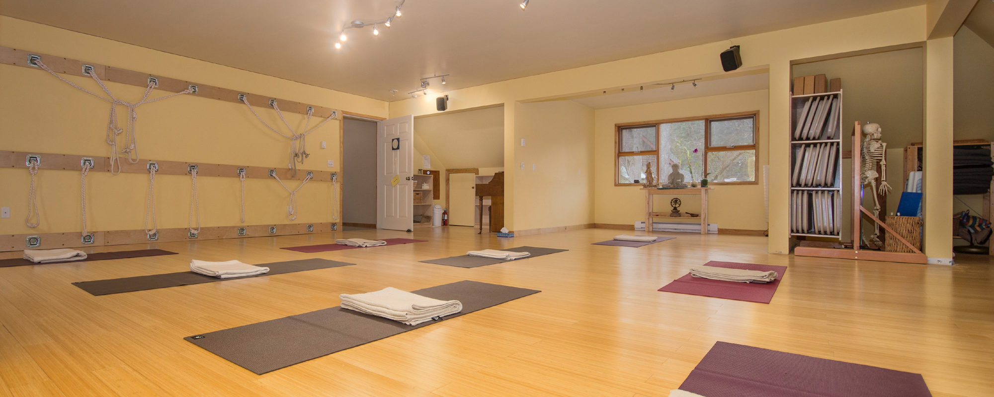 Yoga By The Sea studio interior