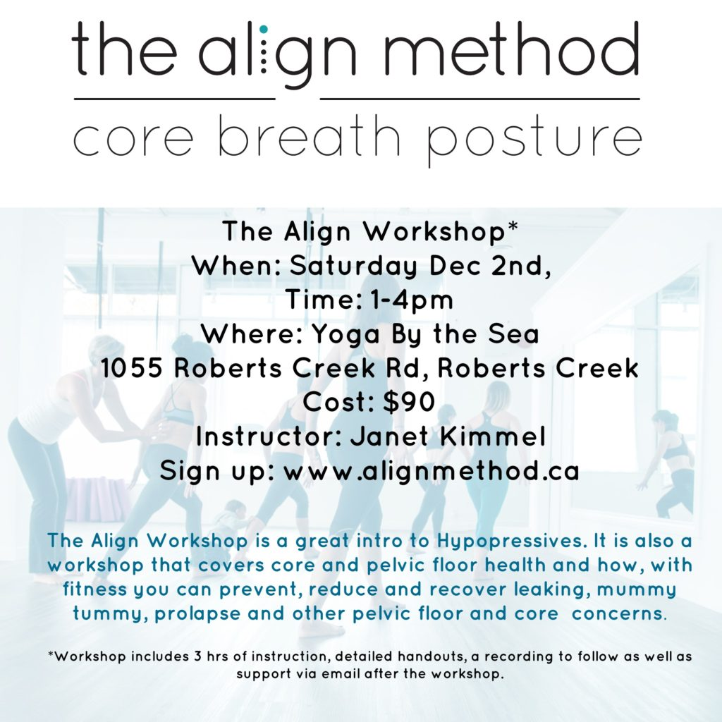 The Align Workshop | Yoga by the Sea