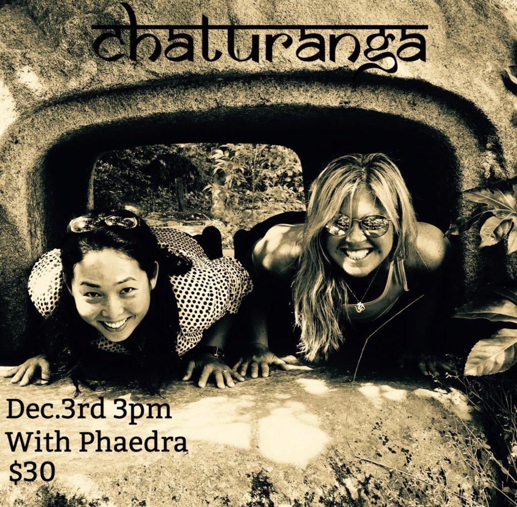 Unpacking Chaturanga with Phaedra